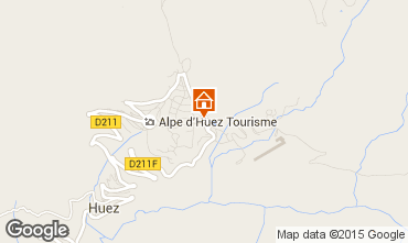 Carte Alpe d'Huez Studio 49666