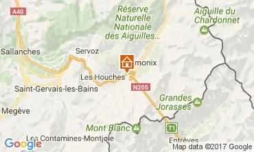 Carte Chamonix Mont-Blanc Appartement 107901