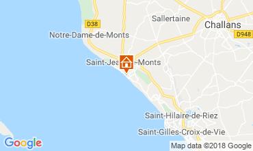 Carte Saint Jean de Monts Appartement 81226