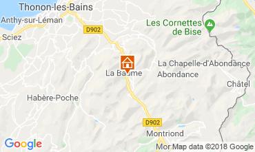 Carte Saint Jean d'Aulps- La Grande Terche Chalet 59028