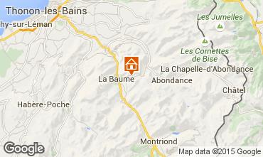 Carte Drouzin Le Mont Appartement 14521