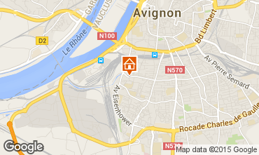 Carte Avignon Appartement 83752