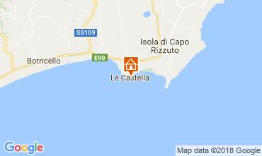 Carte Le Castella Appartement 47005