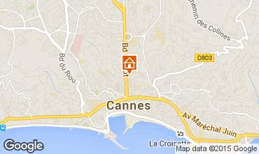 Carte Cannes Appartement 80912
