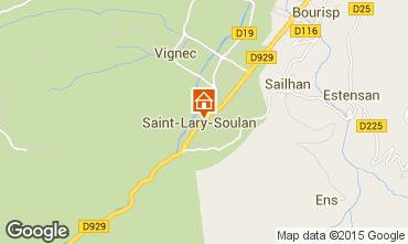 Carte Saint Lary Soulan Appartement 69781