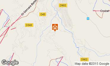 Carte Saint-Gervais-les-Bains Chalet 82174