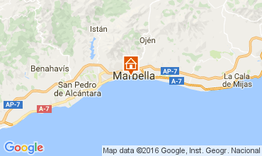 Carte Marbella Appartement 84366