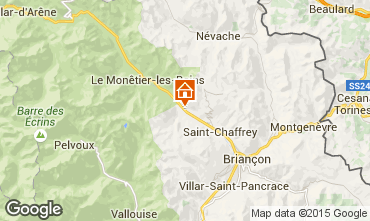 Carte Serre Chevalier Chalet 57863