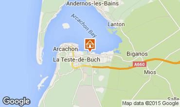 Carte Arcachon Mobil-home 92901