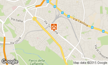 Carte Rome Appartement 26345