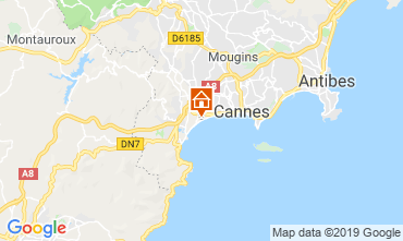 Carte Cannes Appartement 118529