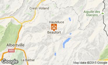 Carte Areches Beaufort Gite 367