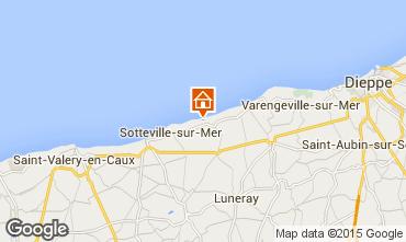 Carte Saint-Aubin-sur-Mer Gite 86385