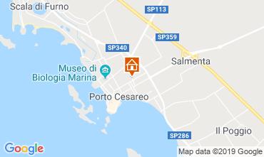 Carte Porto Cesareo Appartement 96203