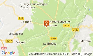 Carte Gérardmer Chalet 112489