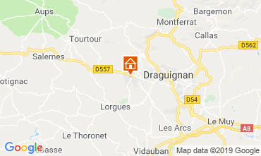 Carte Draguignan Villa 117687