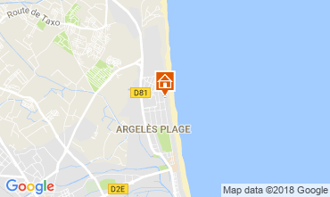Carte Argeles sur Mer Studio 114654