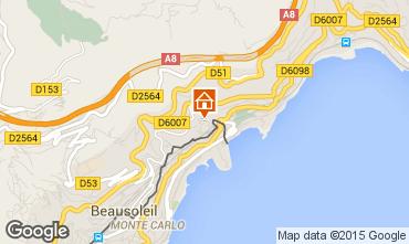 Carte Monaco Appartement 60552