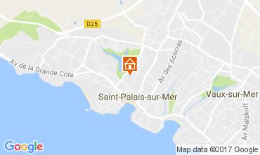 Carte Saint Palais sur Mer Maison 108908