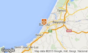 Carte Biarritz Studio 6369