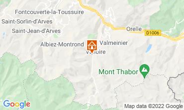 Carte Valloire Gite 31573