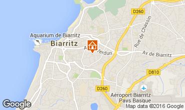 Carte Biarritz Appartement 6396