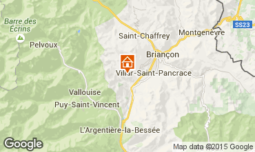 Carte Brian�on Chalet 33866