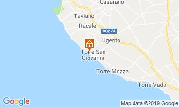 Carte Ugento - Torre San Giovanni Maison 118776