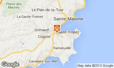 Carte Saint Tropez Villa 10266