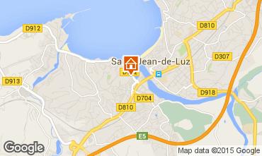 Carte Saint Jean de Luz Appartement 87142