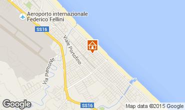 Carte Riccione Appartement 52857
