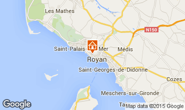 Carte Royan Villa 6770