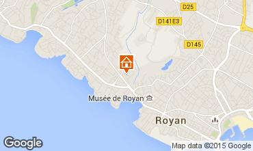 Carte Royan Villa 6770