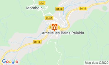 Carte Amélie-Les-Bains Studio 101149