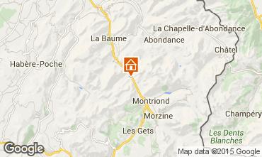 Carte Morzine Chalet 20754