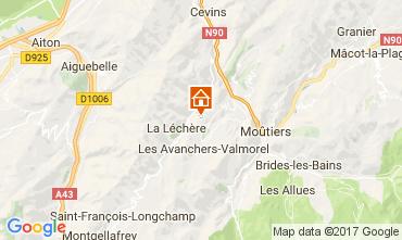 Carte Valmorel Chalet 111890