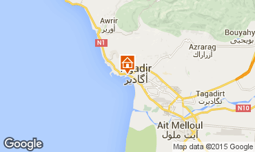 Carte Agadir Appartement 75698