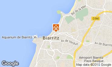 Carte Biarritz Appartement 6363