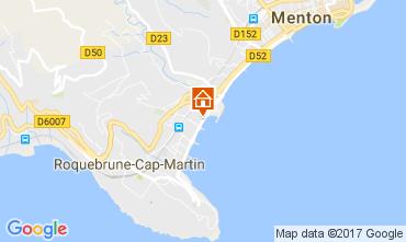Carte Roquebrune Cap Martin Studio 15061