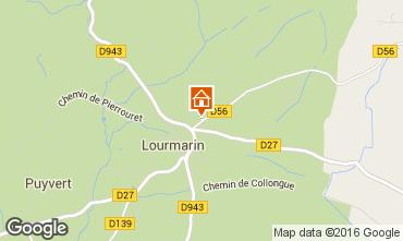 Carte Lourmarin Villa 102991
