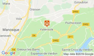 Carte Valensole Maison 117856