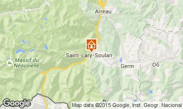 Carte Saint Lary Soulan Maison 93409