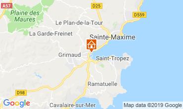 Carte Saint Tropez Mobil-home 5686