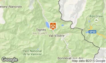 Carte Val d'Isère Appartement 3366