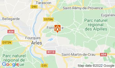 Carte Fontvieille Gite 118591