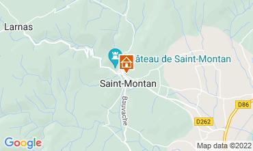 Carte Saint-Montan Gite 63339