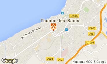 Carte Thonon Les Bains Appartement 101933