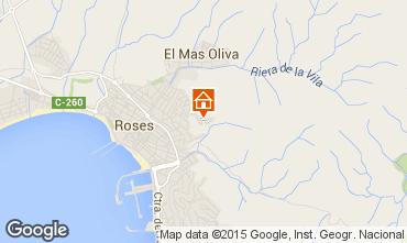Carte Rosas Villa 80944