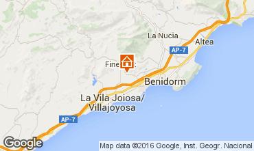 Carte Benidorm Villa 102368