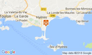 Carte Hyères Studio 107873